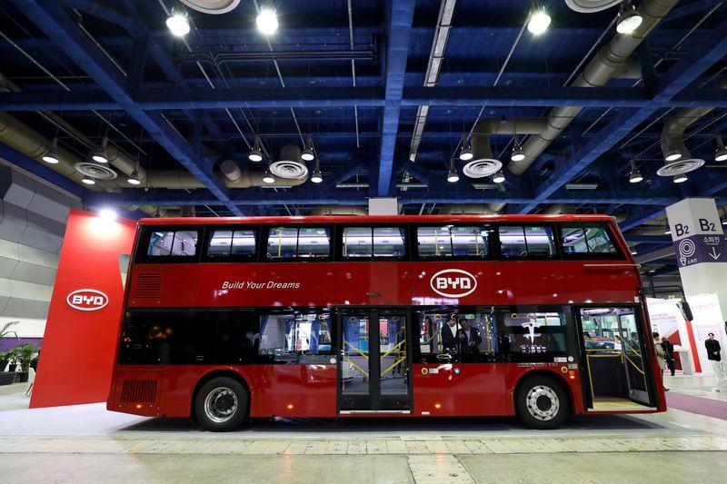 Электроавтобусы (электробусы)