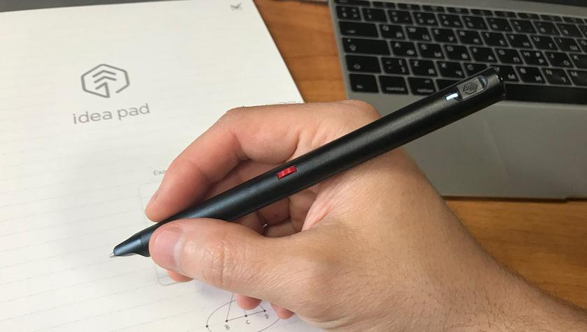 Поступила в продажу умная ручка, дублирующая рукописный текст в электронный
