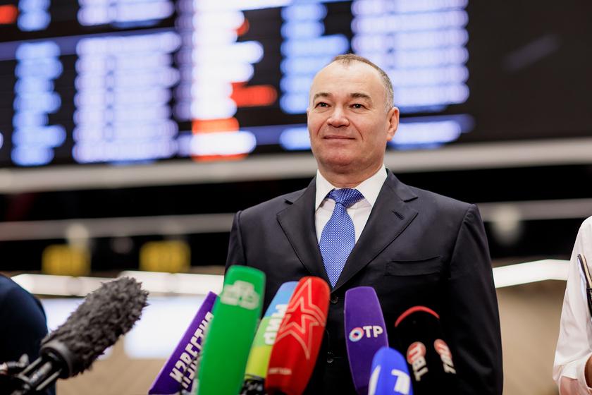 Пономаренко Александр на открытии международного терминала С в Шереметьево